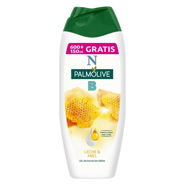 palmolive gel ducha leche y miel 600+150ml