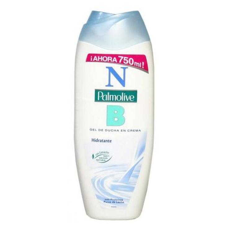 nb palmolive gel de ducha en crema hidratante 600+150ml