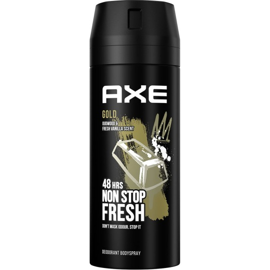 axe gold desodorante bodyspray 150ml