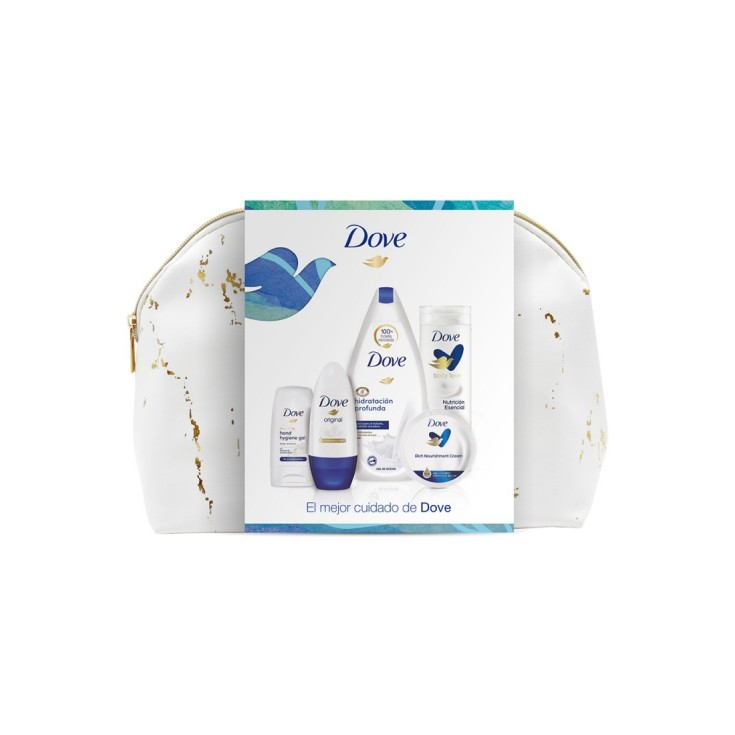 dove woman neceser cuidado corporal mujer 5 piezas