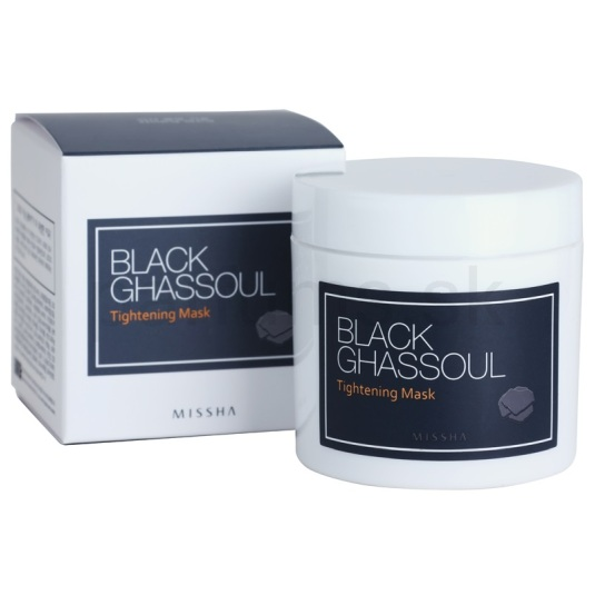 missha black ghassoul tightenig mascarilla 95g