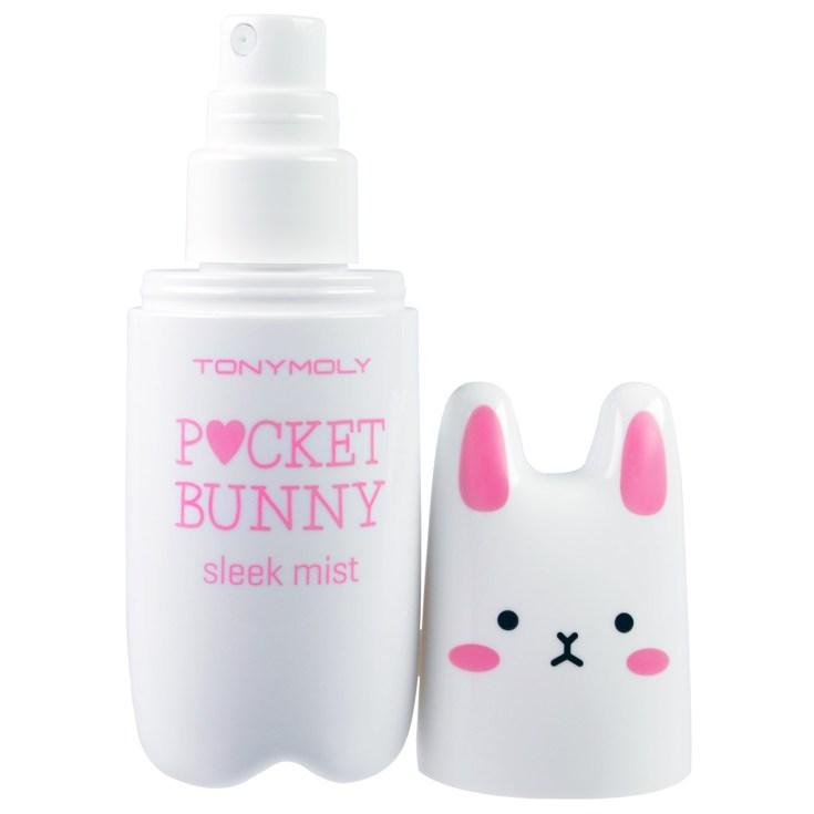 tonymoly pocket bunny sleek mist spray hidratante