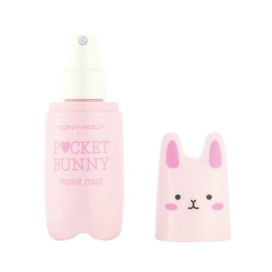 tonymoly pocket bunny moist mist bruma facial hidratante 60ml