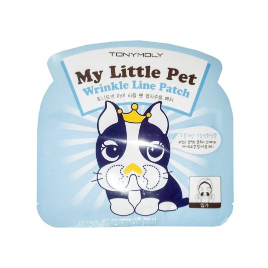 tonymoly my little pet wrinkle line parches 2ud