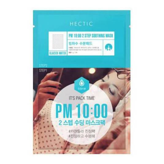 HECTIC PM 10:00 2 STEP SOOTHING MASCARILLA