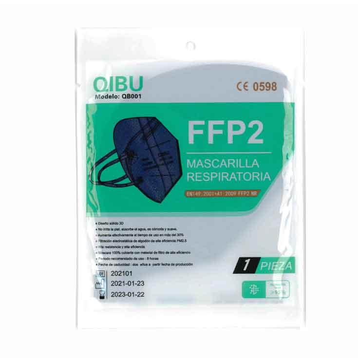 mascarilla ffp2 nr colores adulto 1 unidad
