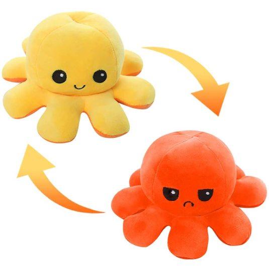 pulpito reversible doble cara naranja-amarillo